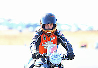 Jul 30, 2016; Sonoma, CA, USA; NHRA pro stock motorcycle rider Andrew Hines during qualifying for the Sonoma Nationals at Sonoma Raceway. Mandatory Credit: Mark J. Rebilas-USA TODAY Sports