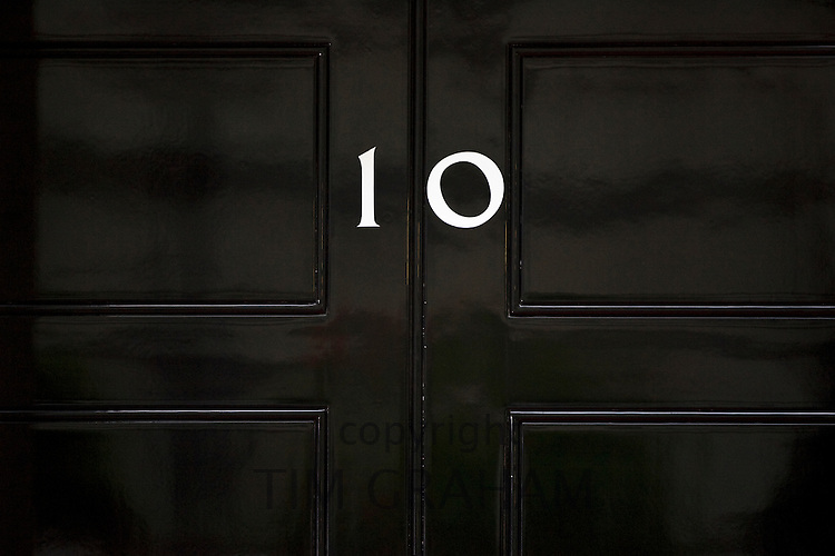 Number 10 Downing Street, home of British Prime Minister, London, UK