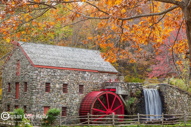 The Wayside Gristmill in Sudbury, Massachusetts, USA
