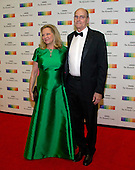 James Taylor and his wife, Caroline &quot;Kim&quot; Taylor arrive for the formal Artist's Dinner honoring the recipients of the 39th Annual Kennedy Center Honors hosted by United States Secretary of State John F. Kerry at the U.S. Department of State in Washington, D.C. on Saturday, December 3, 2016. The 2016 honorees are: Argentine pianist Martha Argerich; rock band the Eagles; screen and stage actor Al Pacino; gospel and blues singer Mavis Staples; and musician James Taylor.<br /> Credit: Ron Sachs / Pool via CNP