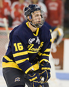 Jesse Todd (Merrimack - 16) - The visiting Merrimack College Warriors tied the Boston University Terriers 1-1 on Friday, November 12, 2010, at Agganis Arena in Boston, Massachusetts.