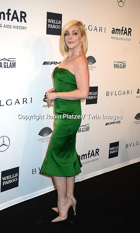Jane Krakowski attends the amfAR New York Gala on February 5, 2014 at Cipriani Wall Street in New York City.
