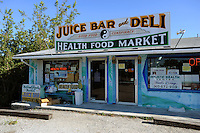 Good Food Conspiracy on Big Pine Key, health food store, great smoothies, juices, warps, sandwiches ..Florida 2009..Foto © Stefan Falke.