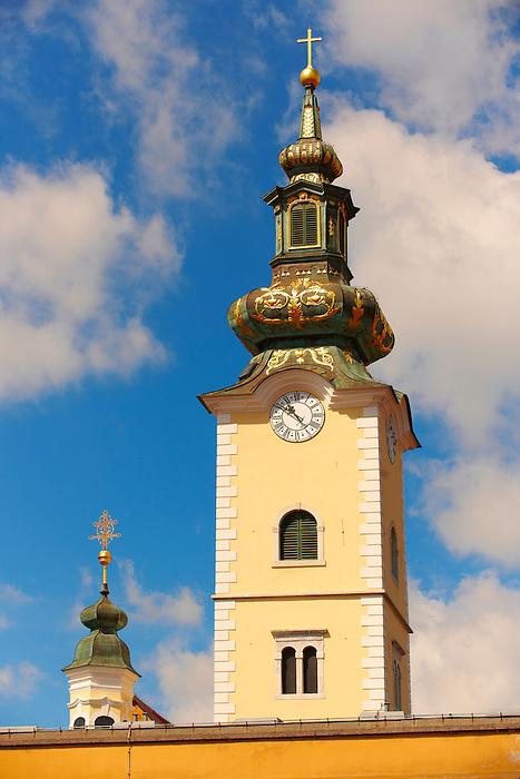 Tower of Saint Marije Church , Zagreb, Croatia