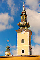 Tower of Saint Marije Church , Zagreb, Croatia