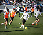 Entreno Real Madrid 06/01/2012