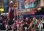 June 15 , 2012 Patricia Field, Lauren Graham, Nina Garcia, Michael Kors and  Heidi Klum at Project Runway's 10th Anniversary Kick-Off at Times Square in New York City. © RW/MediaPunch Inc.