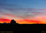 Shiprock at Sunset, Shiprock NM