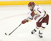 Dru Burns (BC - 7) - The Boston College Eagles defeated the visiting Brown University Bears 5-2 on Sunday, October 24, 2010, at Conte Forum in Chestnut Hill, Massachusetts.