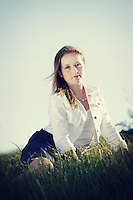 26 February 2013:  Abbie Allhusen, 14 at the park and the beach for grade 8 photos.  ©ShellyCastellano.com for personal use only.