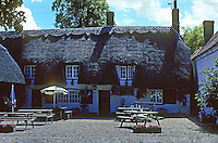 Warborough: The Six Bells--been there since the 15th century. Photo '05.