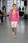 Edwing D'Angelo Spring Summer 2014 Fashion Show Held at Studio 450, NY