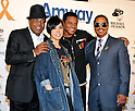 "AI, Tito Jackson, Marlon Jackson and Jackie Jackson, Dec 12, 2011 : Tito Jackson, Marlon Jackson and Jackie Jackson attends the Amway Japan's charity event in Tokyo, Japan, on December 12, 2011. Jacksons visited to Japan for perform at an event ""Michael Jackson tribute live"" in Tokyo, on December 13th and 14th."