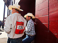 The Pendleton RoundUp is the largest outdoor rodeo in the world,