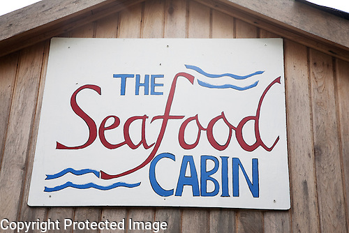 Seafood Cabin Skipness, Kintyre, Scotland