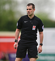 Referee Tom Nield<br /> <br /> Photographer Chris Vaughan/CameraSport<br /> <br /> Vanarama National League - Lincoln City v Macclesfield Town - Saturday 22nd April 2017 - Sincil Bank - Lincoln<br /> <br /> World Copyright &copy; 2017 CameraSport. All rights reserved. 43 Linden Ave. Countesthorpe. Leicester. England. LE8 5PG - Tel: +44 (0) 116 277 4147 - admin@camerasport.com - www.camerasport.com