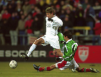 USMNT vs Mexico, Feb. 28, 2001