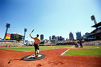 April 17, 2016: Pittsburgh Pirates vs Milwaukee Brewers