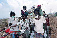 Although the Dalit community was of immense support to the government during the relief operation, they were the last to receive any support themselves.Akkaraipettai, Nagapattinam.India.