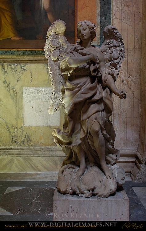 Archangel Gabriel Chapel of the Annunciation Pantheon Campus Martius Rome