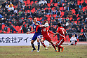 Maya Yoshida (JPN), Akhtam Khamrakulov (TJK), NOVEMBER 11, 2011 - Football / Soccer : 2014 FIFA World Cup Asian Qualifiers Third round Group C match between Tajikistan 0-4 Japan at Central Stadium in Dushanbe, Tajikistan. (Photo by Jinten Sawada/AFLO)