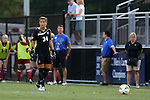 14 August 2014: South Carolina's Sabrina D'Angelo (CAN). The Duke University Blue Devils hosted the University of South Carolina Gamecocks at Koskinen Stadium in Durham, NC in a 2014 NCAA Division I Women's Soccer preseason match. Duke won the exhibition 2-0.