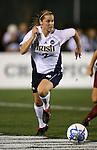 1 December 2006: Notre Dame's Amanda Clark. The University of Notre Dame Fighting Irish defeated Florida State Seminoles 2-1 at SAS Stadium in Cary, North Carolina in an NCAA Division I Women's College Cup semifinal game.