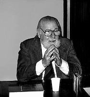 Aldo Bozzi, Politico Italiano (Roma, 22 febbraio 1909 - Roma, 1 novembre 1987) Partito Liberale Italiano.