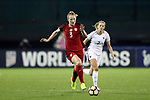 WASHINGTON, DC - MARCH 07: Samantha Mewis (USA) (3). The United States Women's National Team hosted the France Women's National Team as part of the SheBelieves Cup on March 7, 2017, at RFK Stadium in Washington, DC. France won the game 3-0.