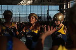 The Richmond Wrecking Belles defeat the San Francisco ShEvil Dead 187-139 for third place in the teams' final league bout of the season. The Bay Area Derby Girls Championships were held on October 10, 2015 in Richmond, California.
