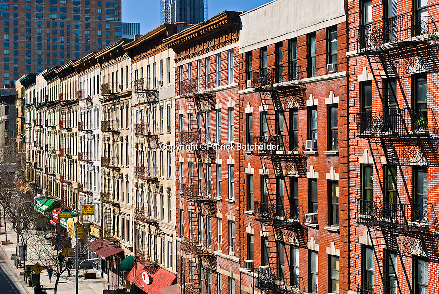 Tenement Buildings New York City Photography Of New York City By Patrick B