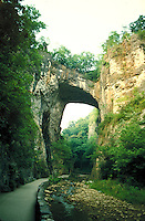 Natural bridge in Virginia. Virginia United States.