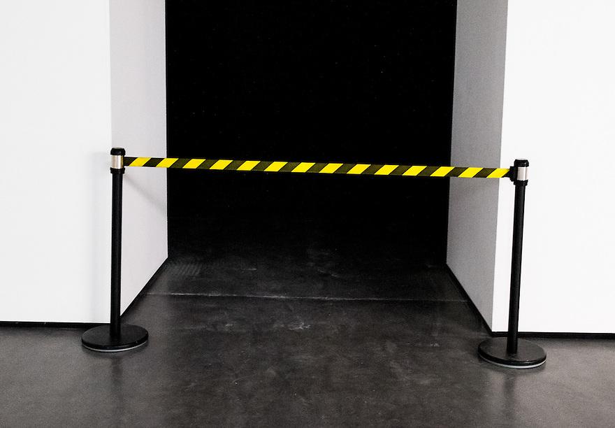 Nederland, Rotterdam, 12 jan 2014<br /> Afzetting, verboden toegang, gesloten<br /> <br /> Foto: Michiel Wijnbergh