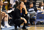 20 December 2011: Duke head coach Joanne P. Mitchell. The Duke University Blue Devils defeated the University of North Carolina Wilmington Seahawks 107-45 at Cameron Indoor Stadium in Durham, North Carolina in an NCAA Division I Women's basketball game.