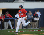 Mississippi's Matt Smith scores vs. Florida at Oxford-University Stadium on Friday, March 26, 2010 in Oxford, Miss. Ole Miss won 3-2.
