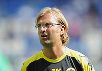 FUSSBALL   1. BUNDESLIGA  SAISON 2011/2012   2. Spieltag   13.08.2011 TSG 1899 Hoffenheim - Borussia Dortmund  Trainer Juergen Klopp (Borussia Dortmund) enttaeuscht
