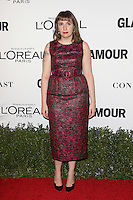 LOS ANGELES, CA - NOVEMBER 14: Lena Dunham at  Glamour's Women Of The Year 2016 at NeueHouse Hollywood on November 14, 2016 in Los Angeles, California. Credit: Faye Sadou/MediaPunch