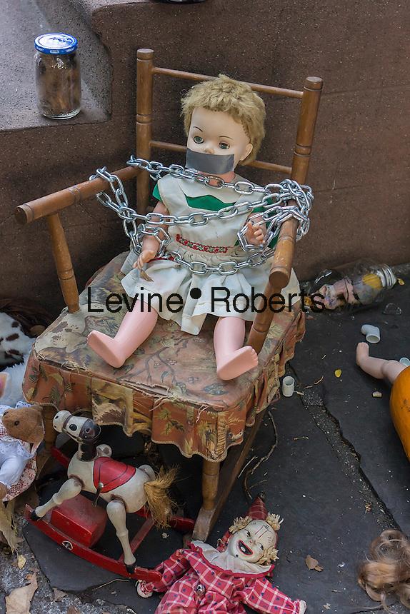 Brooklyn Halloween Display a Gruesome Halloween Display