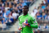 Goalkeeper Bill Hamid (28) of DC UnitedDC United defeated Philadelphia Union 1-0 during a Major League Soccer (MLS) match at PPL Park in Chester, PA, on June 16, 2012.