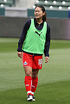 29 March 2009: Washington's Homare Sawa (JPN). Los Angeles Sol defeated the Washington Freedom 2-0 at the Home Depot Center in Carson, California in a regular season Women's Professional Soccer game. The game was the WPS Inaugural game.