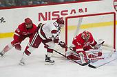 Alec McCrea (Cornell - 29), Ryan Donato (Harvard - 16), Mitch Gillam (Cornell - 32) - The Harvard University Crimson defeated the visiting Cornell University Big Red on Saturday, November 5, 2016, at the Bright-Landry Hockey Center in Boston, Massachusetts.