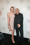 Singer LeeAnn Rimes and Designer Max Azria : New York Mercedes-Benz Fashion Week Spring 2012 - Herve Leger - Backstage New York City, USA - 9/13/11