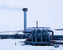 Hellisheidi (Hellisheidarvirkjun)Geothermal Power Station, South Iceland. The power station is located in the Hengill volcano area. Hengill is a volcano made from palagonite tuff and its highest point is around 800 meters above sea level. Hengill geothermal area is located in the middle of the western volcanic zone, on the plate boundary between North America and European plates. The area is one of the most powerful geothermal areas in the world with several thousand of hot springs at the surface and a giant magma chamber lying underground. Hengill volcano is still active, although its last eruption occurred about 2 000 years ago.