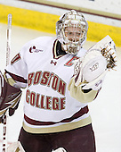 Molly Schaus (BC - 30) - The Boston College Eagles defeated the Boston University Terriers 2-1 in the opening round of the Beanpot on Tuesday, February 8, 2011, at Conte Forum in Chestnut Hill, Massachusetts.