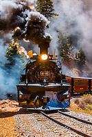 USA-Colorado-Cumbres & Toltec Scenic Railroad-Spring