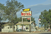 Historic Route 66, Seligman, Arizona, Motel Signage
