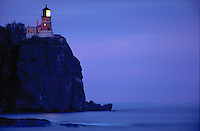Split Rock lighthouse, Split Rock Lighthouse State Park, near Castle Danger, Minnesota, north shore of Lake Superior.