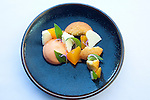 Peaches, brown butter and pineapple sage