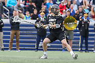 Annapolis, MD - April 15, 2017: Army Black Knights Matthew Donovan (91) attempts a shot during game between Army vs Navy at  Navy-Marine Corps Memorial Stadium in Annapolis, MD.   (Photo by Elliott Brown/Media Images International)