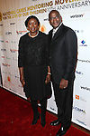Golden Crust's Lorna Hawthorne and Lowell Hawthorne attend THE National Cares Mentoring Movement's FOR THE LOVE OF OUR CHILDREN GALA and Birthday Celebration for Cares' Founder Susan L. Taylor